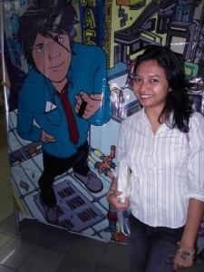 me and cartoon